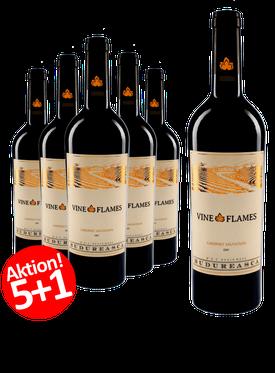 6-er Weinpaket | The Vine in Flames Cabernet Sauvignon 2018
