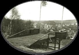 Pionierschanze in den 1950-60er Jahren / Quelle: Bürgerverein