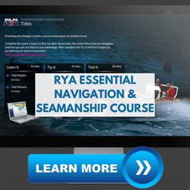 superyacht crew training rya navigation course