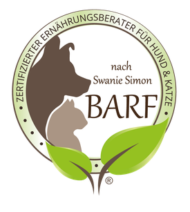 Zertifizierter Ernährungsberater für Hund und Katze nach Swanie Simon. Claudia Ahlering. BARF.