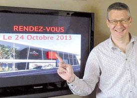 Franck Vidal, directeur de la Cité du Chocolat.