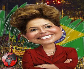 Brasiliens præsident og eks-guerillera Dilma Rousseff