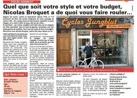 Un magasin et un vélociste à découvrir...