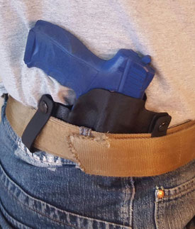 Innenbundholster (IWB-Holster) von Kydex Customs Concepts