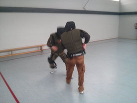 Street Combatives Force-on-Force Training Schießausbildung