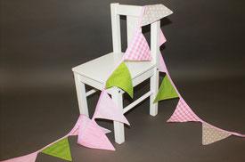 Wimpelkette für Baby- und Kinderzimmer