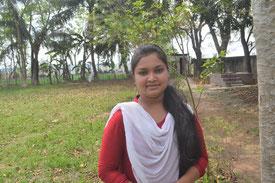 ニパさん(13歳)ラスモハン女子学校