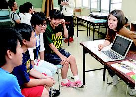 「未知との交流in石垣島」と題したイベントが開かれた=24日、八重山高校