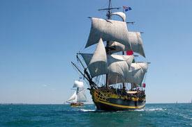 L'Etoile du roi - Navire corsaire de Saint Malo