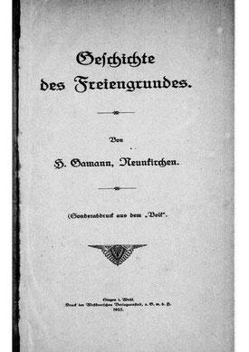 Quelle : u.a. Geschichte des Freiengrundes (H. Gamann)