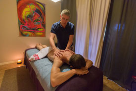 Serge Fige, masseur