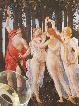 involuté le printemps de s.botticelli