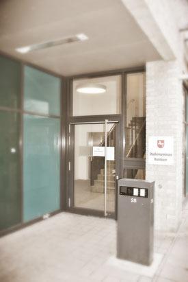 Bild: Der Eingangsbereich vom Studienseminar Hannover