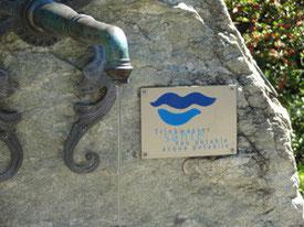 Dorfbrunnen in Kobelwald