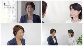 (株)ネクステージ代表取締役の岡崎美幸さんのキャスタートレーニング、ディレクション、全体プロデュースを遥美香子が担当いたしました。