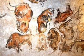 Prähistorische Wandmalereien Quelle: Wikipedia