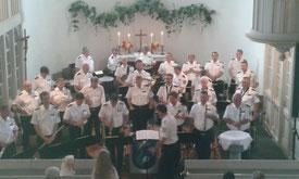 Das Polizeimusikkorps Thüringen