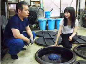 大学時代は、ジャーナリスト志望だった矢島社長。現在は起業というビジネス活動を通じて「日本の伝統を伝える」仕事をされています。