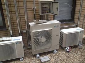 『エアコン徳島空調屋』 徳島市 大学病院 エアコン修理