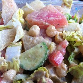 Kichererbsen-Salat (vegan, glutenfrei) aus dem Instant Pot
