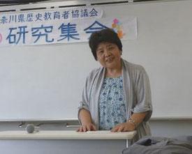 2015 かなれき総会本部常任 桜井千恵美さん