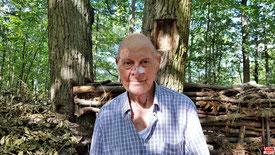 Kévorg LAZIAN, créateur de la Chapelle à ciel ouvert.