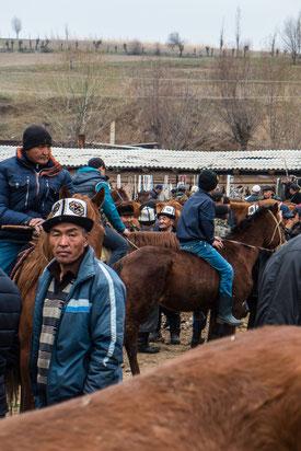 Kirgizstan Horses Ski and Snowboard Mountains