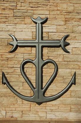 Croix de Camargue en bois fabrication artisanale
