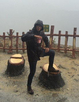 Cup noodles are essential for survival on an Indonesian volcano