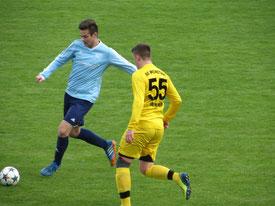 Markus Schultheis und der TSV rückten durch den Sieg in Weinstadt auf den 7. Tabellenplatz