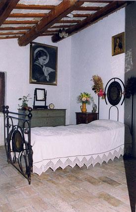 Habitación en que nació Santa María Goretti