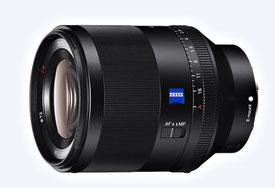 Sony FE 50/1.4 ZA (с сайта компании)
