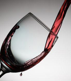 Rotwein, gesund, Ernährung, essen und trinken