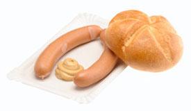 """FRANKFURTER"" (una specialità culinaria Viennese), oltre i confini Austriaci chiamati ""WIENER WÜRSTEL"")"