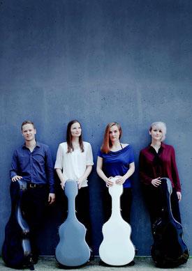 Weimar Guitar Quartet - Jakob Schmidt, Hanna Link, Karmen Stendler und Stephanie Jones