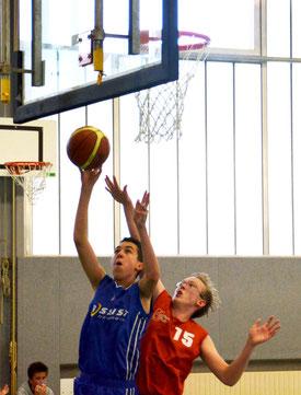 Paul Budach brachte sein Team auf die Siegerstraße. (Foto: Moradi)