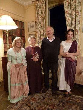 De gauche à droite : Mireille Thiesse, Eliane Le Foll et Camille Nicolas