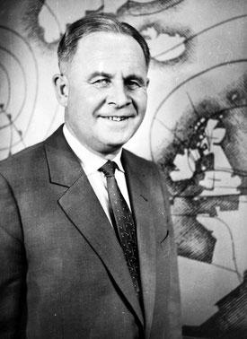 "Georg Kühne, Meteorologe, Klimatologe, Fernseh-Meteorologe, Begründer der Fernseh-Wettervorhersage"""