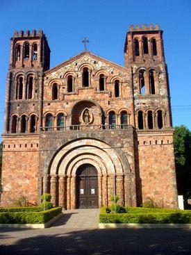 Die Kirche von Ybaroty in Villarrica