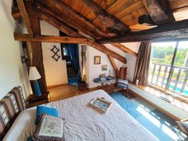 chambre Moutouchi aménageable en 2 lits jumeaux