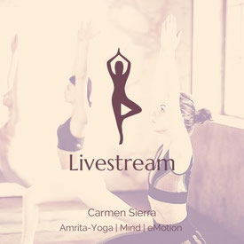 Yoga im Livestream | Carmen Sierra | SIMPLY RELAX