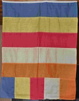 Die buddhistische Flagge