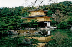 Goldener Pavillion in Kyoto, Japan  Foto: Weil