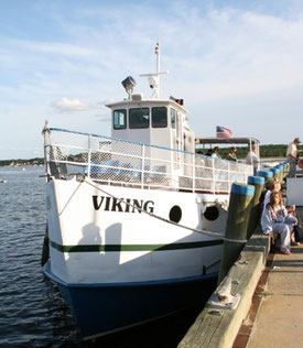 We Cruise Cape Cod Canal Aboard Hy-Line's 'Viking'
