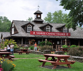 Yankee Candle Headquarters in South Deerfield, MA