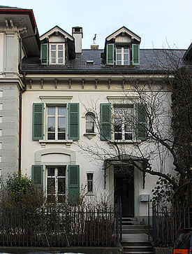 Hopf & Wirth Architekten ETH HTL SIA Winterthur:  Sanierung / Umbau Reiheneinfamilienhaus in Bern