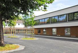 Architekturbüro Silke Hopf Wirth & Toni Wirth Architekten ETH HTL SIA Winterthur, Neubau Erweiterung / Umbau Schulanlage Feld, Winterthur. Stadt Winterthur