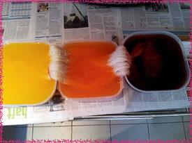Wolle färben mit Kool Aid
