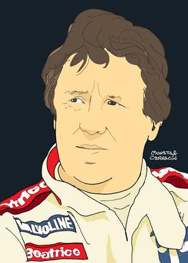 Mario Andretti by Muneta & Cerracin