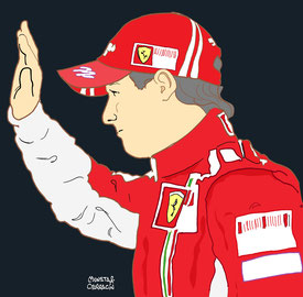 Felipe Massa by Muneta & Cerracín